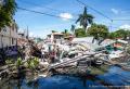 지진으로 무너진 건물 모습. ⓒ월드비전