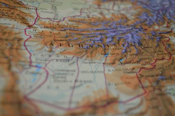 아프간 지도, 아프가니스탄 지도