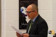 피터 블라밍 교사가 지난 2018년 12월 6일 열린 웨스트포인트 교육위원회 회의에서 준비된 성명을 낭독하고 있다. ⓒ보도화면 캡쳐