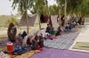 삶의 터전을 잃은 아프간 실향민 모습