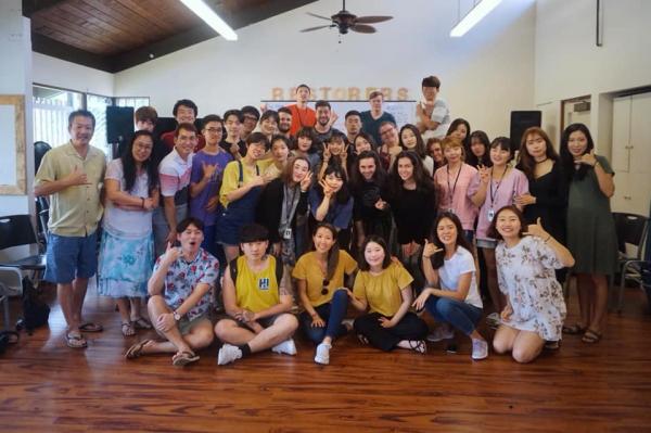 지미 채 목사가 인도하는 하와이 열방대학 회복학교