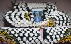 장례식장에 걸린 故 이장식 박사의 영정 ©노형구 기자