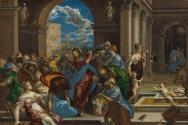 예수님의 '성전 정화' 사건을 그린 엘 그레코의 성화(1600). ⓒnga.gov