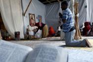 에티오피아와 에리트리아 출신 기독교 난민들의 모습. ⓒ미국 크리스천포스트