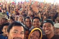 파퀴아오가 필리핀 대선 출마를 선언했다.