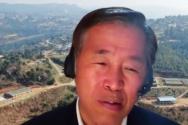 양승훈 교수가 25일 온라인 창조론 오픈포럼에서 발표를 하고 있다. ©창조론 오픈포럼 줌 영상 캡처
