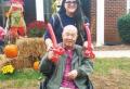 미국 노스캐롤라이나 루이스빌에서 손녀와 즐거운 시간을 보내고 있는 생전의 한혜원 목사. ⓒ영락교회 제공