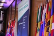 지난 2018년 7월 24일 워싱턴 D.C.에서 종교 자유 증진을 위해 국무부 관계자들이 회의를 열었다.