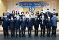고신대 개교 75주년 기념식의 주요 참석자들이 단체사진을 촬영하고 있다. ©고신대