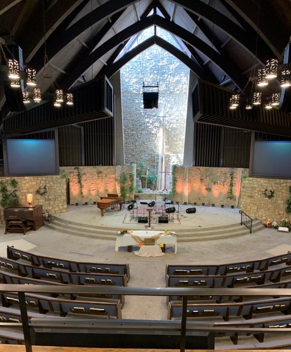 기쁜우리교회가 10월 30일부터 예배 장소로 사용할 글렌데일장로교회