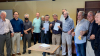 교회 시설에 대한 공동사용 계약을 맺는 기쁜우리교회와 글렌데일장로교회