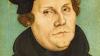 독일 화가 루카스 크라나흐(1472~1553)가 그린 루터 초상화. ©위키미디어