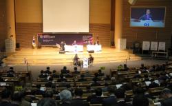 과거 기독교대한감리회 총회 입법의회가가 열리던 모습.