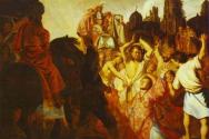 스데반의 순교. 렘브란트(1625).