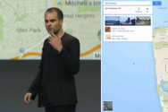 구글 개발자 컨퍼런스(Google I/O 2013)에서 새로운 구글맵이 발표됐다.