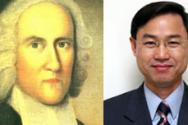 조나단 에드워즈(왼쪽)와 강사 심현찬 목사.