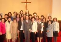 한인연합감리교(KUMC) 북조지아연회 한인여선교회 연합회 신년예배.