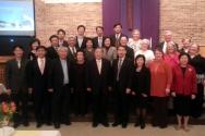 워싱턴총신동문회 3월 정기모임이 Church of the Redeemer에서 열렸다.