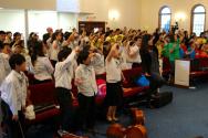 지난해 열린 '제3회 어린이 찬양축제'.