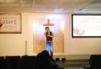 세계로교회에서 열린 유은성 전도사 찬양집회.