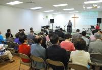 애틀랜타한인원로목사회 정기모임이 제일장로교회에서 열렸다.