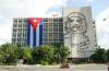 쿠바 하바나 혁명광장에 자리한 내무부 건물. 혁명을 주도한 체 게바라의 초상화가 걸려 있다. ⓒMartin Abegglen.