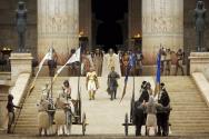 ▲<엑소더스: 신들과 왕들>은 이집트 람세스 시절의 모습을 잘 재현해 냈다. ⓒ영화사 제공