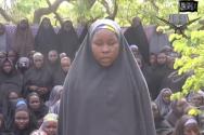 나이지리아 치복에서 보코하람에 의해 납치된 여학생들의 모습