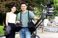 방송인 신은하 씨(왼쪽)와 권순도 감독(오른쪽).